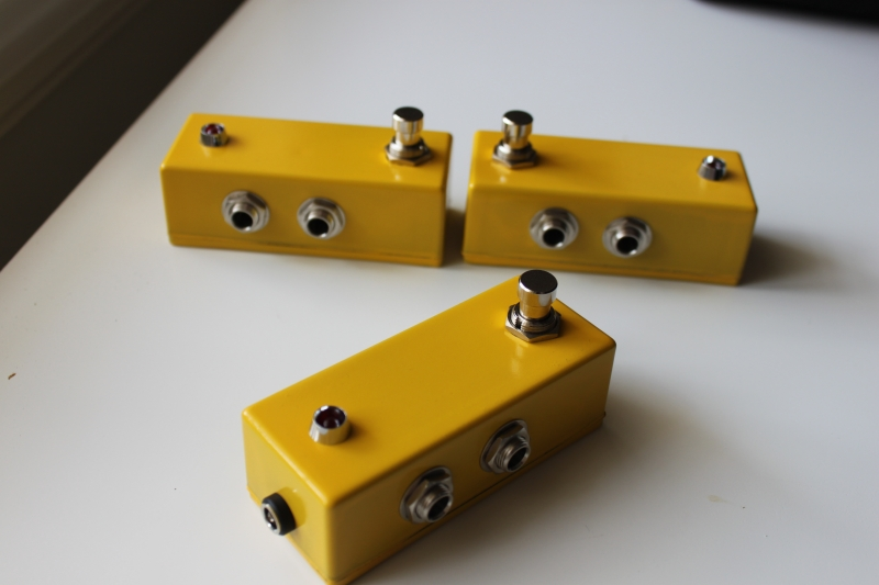 <p>The history of the True Bypass Mini Looper !</p>